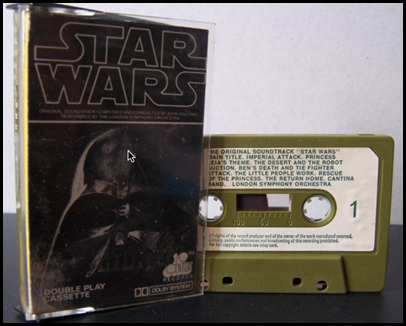 star wars tape 1977